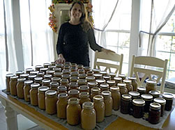 linda canning apple sauce