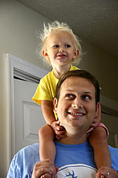 abbi on dads shoulders